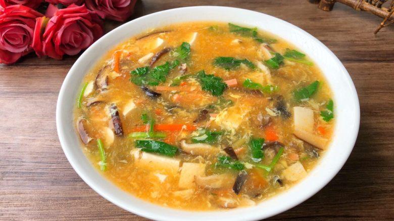 杂烩酸辣汤