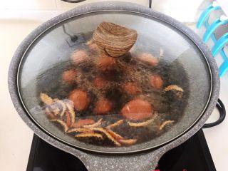 自制五香茶蛋,烧开