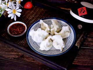 海蛎子西葫芦饺子