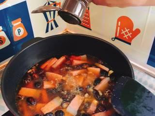 什么都来点的台式素粽,加入五香粉。