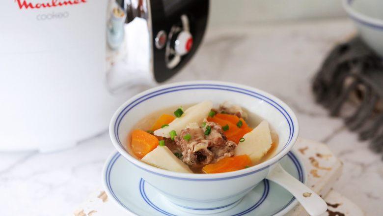 排骨山药胡萝卜汤,图三