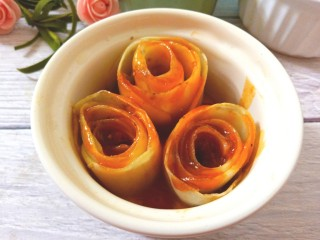 番茄土豆玫瑰花