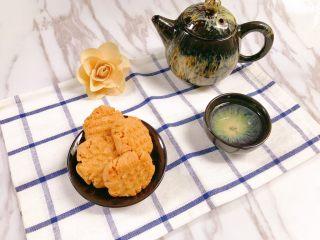 茶点——花生小酥饼,用来做茶点真是不错