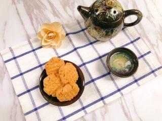 茶点——花生小酥饼,美好的下午