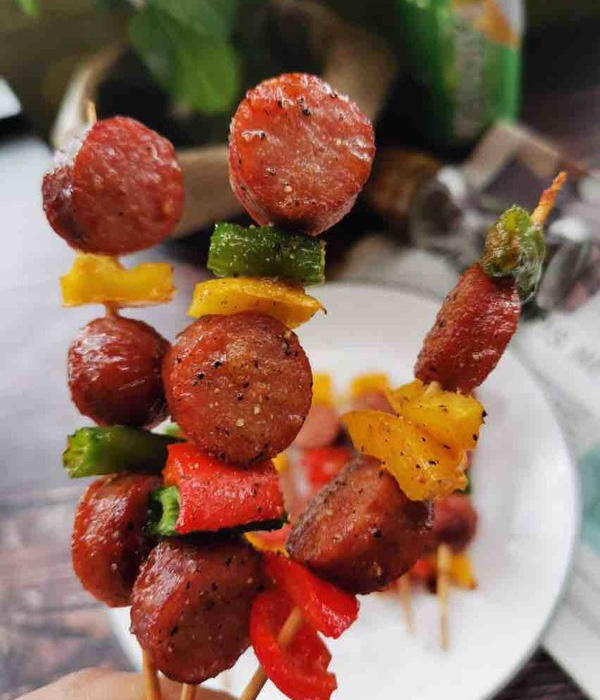 法式黑椒烤牛肉肠