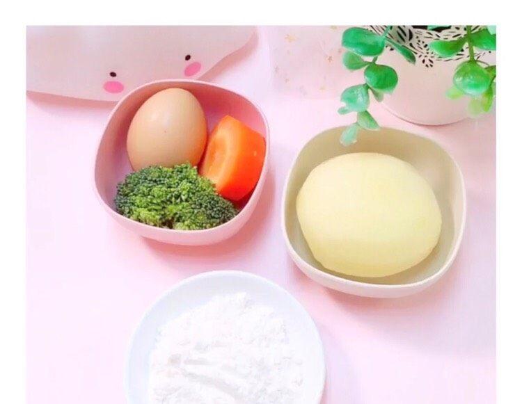 8+蔬菜土豆🥔条,准备好材料