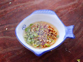 原味海螺,用筷子搅拌均匀后。