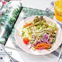 藜麦田园蔬菜沙拉,轻食早餐做好啦!