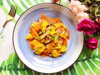 蚝油胡萝卜香菇土鸡蛋