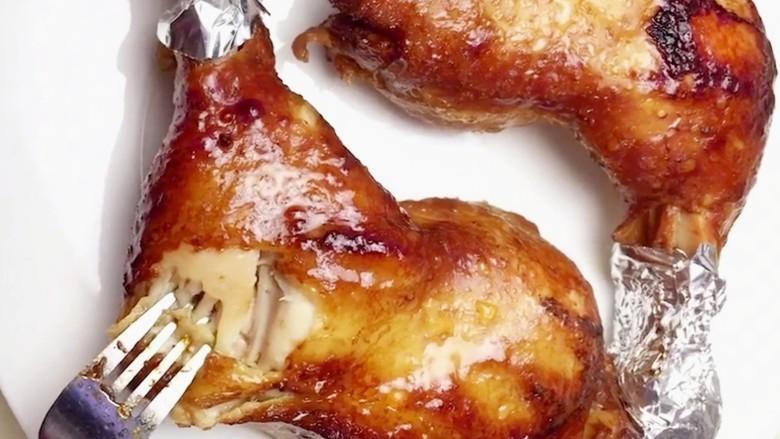 电饭煲焖鸡腿