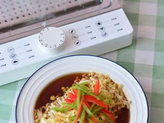 清蒸金针菇,清蒸金针菇
