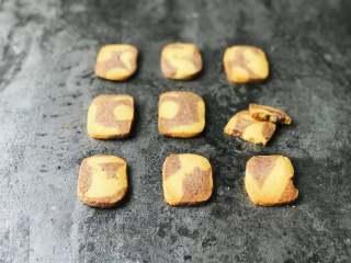 黑醋栗双色黄油饼干,成品3