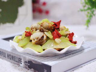 扇贝莴苣小炒