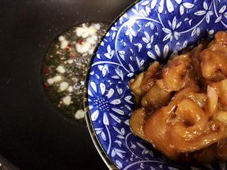蚝油南瓜炒鸡片,下鸡肉