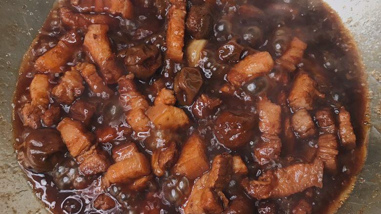 青梅煮酒 梅子炖肉 肥而不腻清口美味,50分钟后捞出葱结