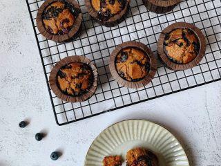 蓝莓麦芬蛋糕,酸甜可口,好吃极啦
