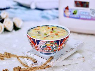 海虾时蔬双米粥(宝宝辅食),好喝营养丰富不打折,喜欢的感觉为自家宝贝做起来吧。