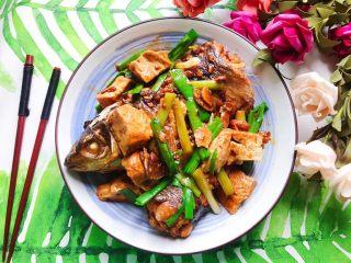 青蒜豆腐炖草鱼
