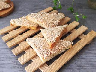 麻香吐司面包,成品图!