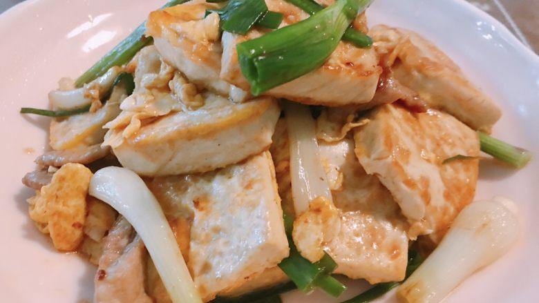 葱香鸡蛋豆腐