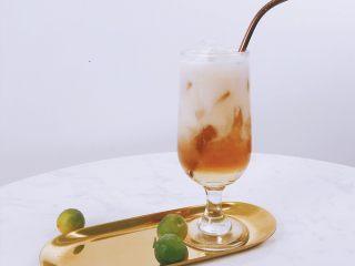 夏日晚霞薄荷波士冰茶,唤醒你的活力