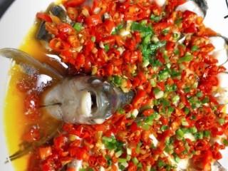 剁椒扁鱼,剁椒扁鱼就做好了