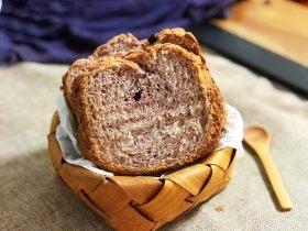 黑醋栗酸奶吐司(面包机版)