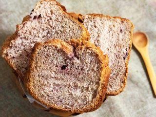 黑醋栗酸奶吐司(面包机版),成品2