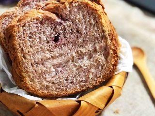 黑醋栗酸奶吐司(面包机版),成品1