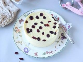 蔓越莓蒸蛋糕,柔软细致
