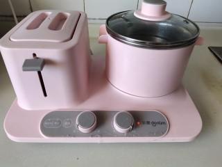 香辣沾串,轻食机烧水