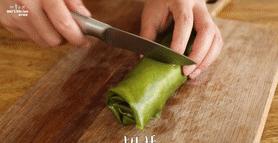 【抹茶毛巾卷】抹茶控的小确幸,撒上抹茶粉即可享用。