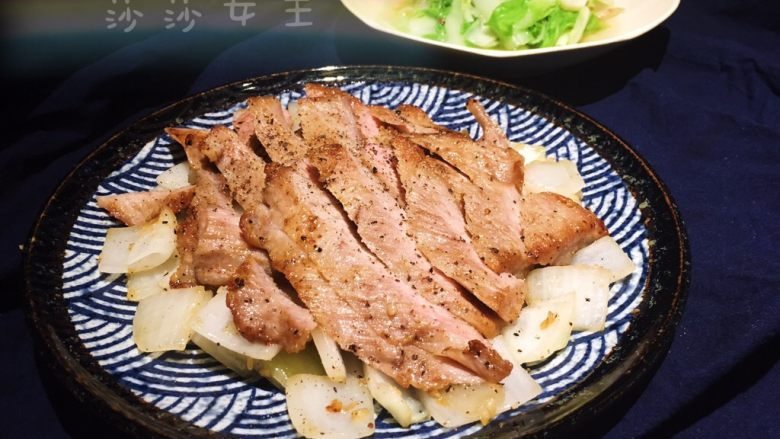 洋葱猪颈肉