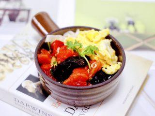 西红柿木耳鸡蛋打卤面,过凉水后的面条,捞出沥干水分,放入碗中,上面浇上西红柿卤和炒熟的鸡蛋就可以了,营养丰富又好吃到哭。