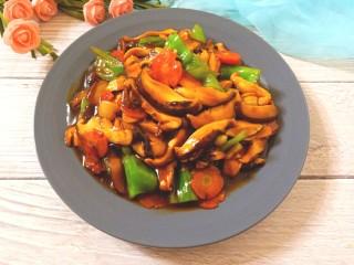 耗油香菇,咸鲜美味的耗油香菇,特别好吃下饭