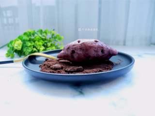 仿真紫薯包