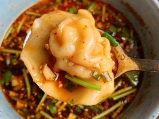 酸汤水饺,酸辣开胃