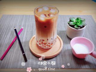 珍珠冷萃咖啡
