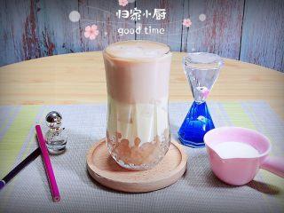 奶茶三兄弟,一杯颜值颇高的奶茶三兄弟就做好了。