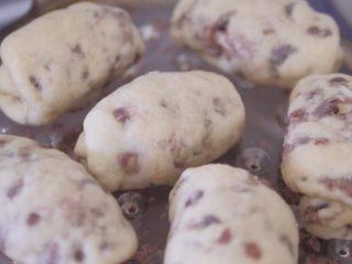 红豆馒头卷,白白胖胖的红豆卷蒸好啦