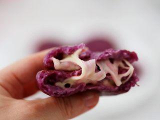 紫薯芝士饼,图三