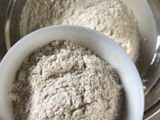 牛奶吐司,称重后,除了黄油之外,其他的材料都放入揉面盆。按先液体后固体的顺序。酵母不要和盐,糖放在一起,以免影响活性。 黄油室温软化