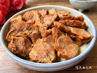 卤牛肉,成品图