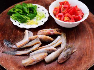 番茄啤酒炖光鱼,把番茄洗净后,用刀切成块,所有的食材都准备好了以后。