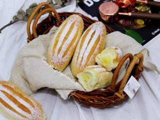 椰蓉面包(波兰种),成品图