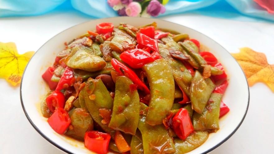 辣炒白扁豆