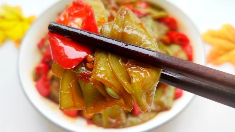 辣炒白扁豆,美美图片来一张,特别下饭!