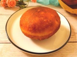 炸红豆沙馅酸奶面包,成品图一