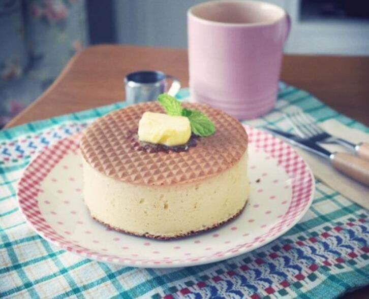 日式厚鬆饼