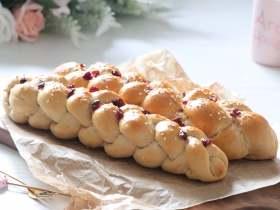 一看就会的四股辫子面包